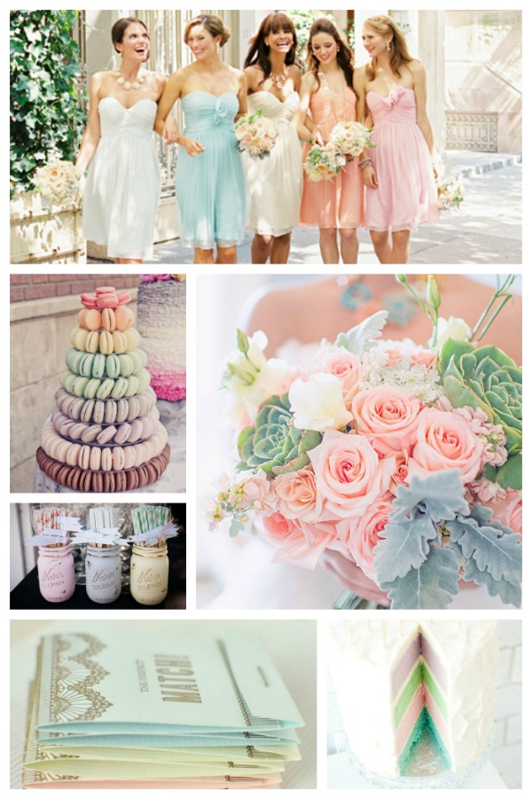 Pastel Wedding Ideas!