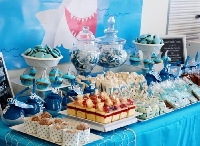 Summer Shark Party Ideas