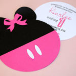 Adorable Minnie Mouse Party Invitations