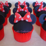 Adoring These Minnie Mouse cupcakes