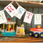 Alphabet banners-perfect for back to school party!