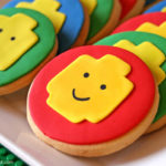 Awesome Lego cookies for a lego party!