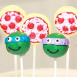 Awesome TMNT Cake Pops!