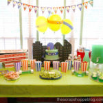 Awesome Teenage Mutan Ninja Turtle dessert bar