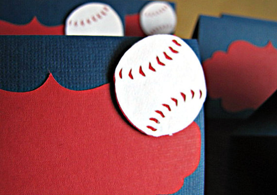 Baseball food tents- perfect for a party!