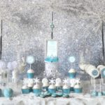 Beautiful Frozen Birthday Party Dessert bar