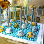 Cake pop sparkle sticks!