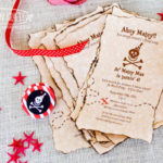 Check out these adorable pirate party invitations