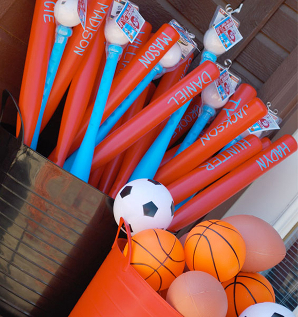 Cute idea for a baseball party