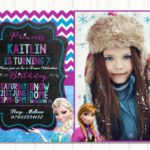 Fabulous Disney Frozen Invitation