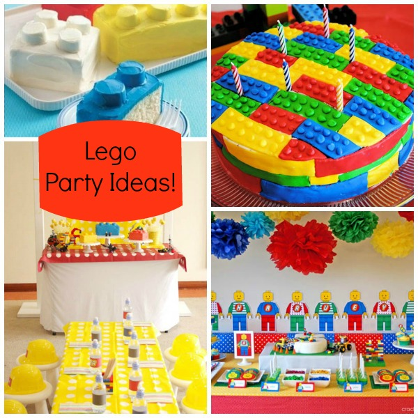 Lego Party Ideas!