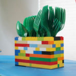 Lego paty untensil holders!