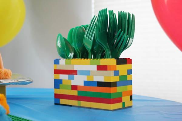 Lego paty untensil holders