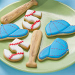 Love these baseball bat cookies!