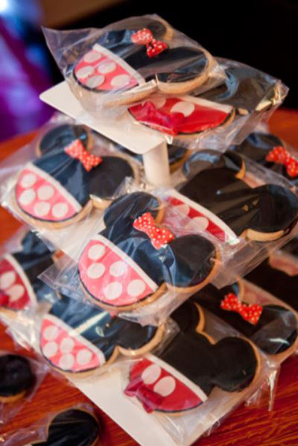 Love these minnie mouse cookies
