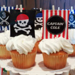 Love these pirate cupcakes!