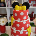 Love this Minnie Mouse cake!