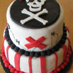 Love this pirate party cake