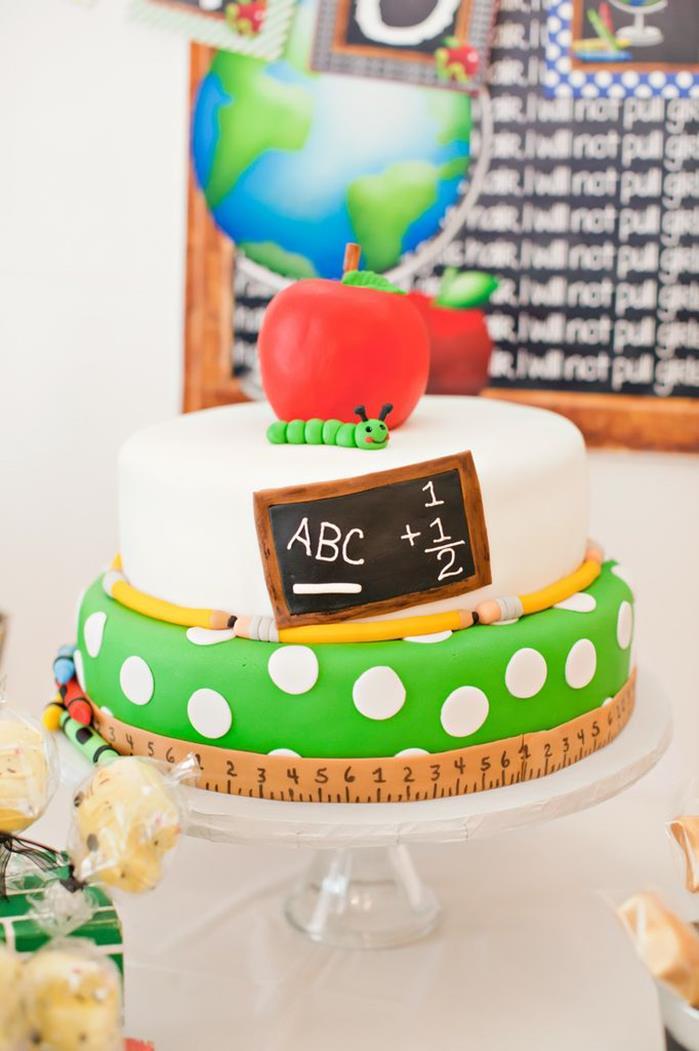 Lovely Back To School Cake!