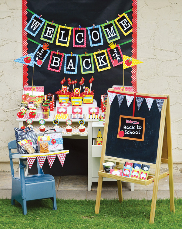 Lovely Back To School Party