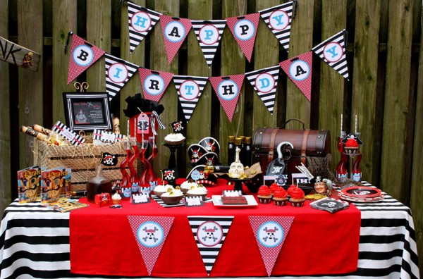 Lovely Pirate Party- Arrggghhh!