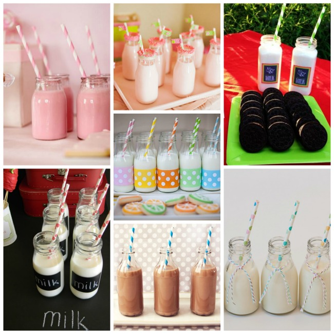 Milk Ideas For Back To School!