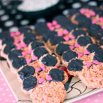 Minnie mouse rice crispies-how cute!