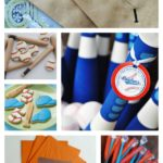 My Favorite Baseball Party bat ideas!