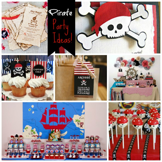 Our Favorite Pirate Party Ideas!