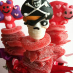 Pirate candy kabob