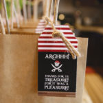 Pirate party favor bags!