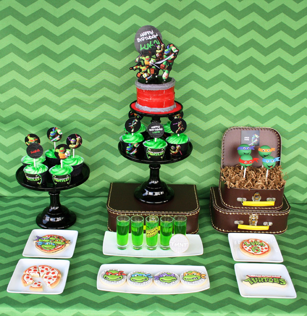 TMNT Dessesrt Table