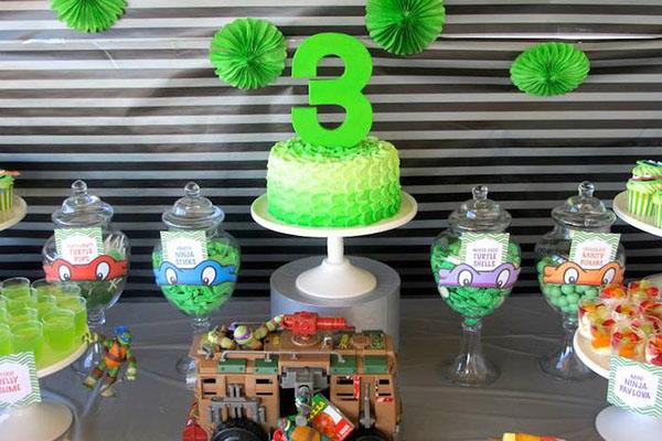 Teenage Mutant Ninja Turtles Birthday Party!