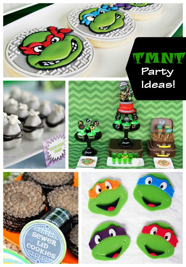 Teenage Mutant Ninja Turtles Party Ideas!