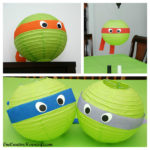 Tennage mutant Ninja Turtle Lantern Decorations