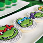 These TMNT Cookies are amazing!