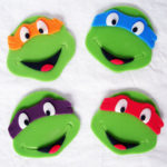 These Teenage Mutant Ninja Turtle Cupcake toppers are sooo lovely!