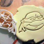 We love this TMNT Cookie cutter to make some sweet cookies!
