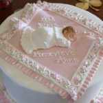 Aww this Christening cake is too cute!