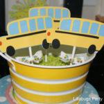 Cute School Bus Cupcake toppers!