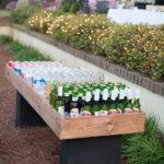 DIY table full of drinks!