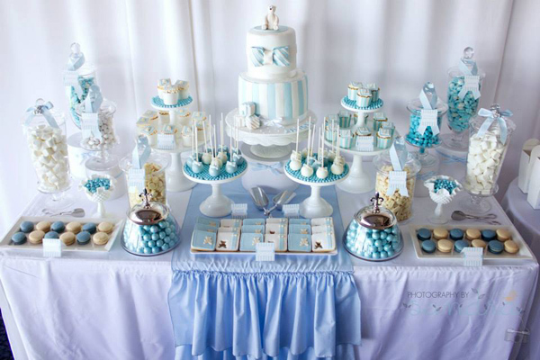 Baptism and christening parties we love b lovely events - Decorations for a baptism ...