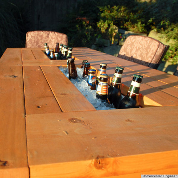 Diy Patio Drink Cooler