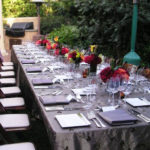 Elegant Outdoor Dinner