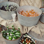 Galvanized tubs make great drink coolers!