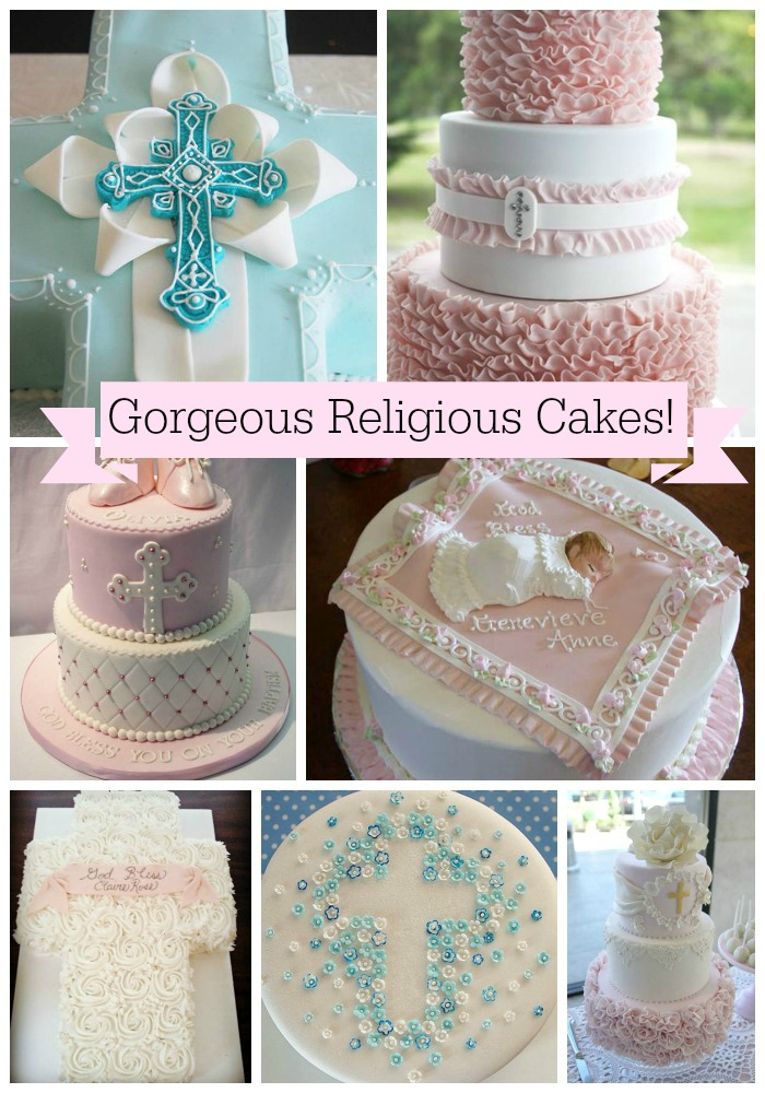 Gorgeous Baptism And Christening Cakes!
