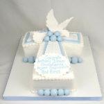 Lovely Baptism & Christening cake