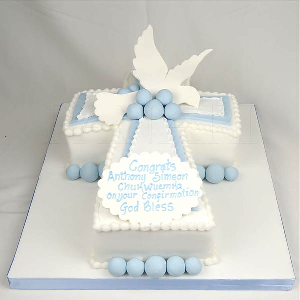Lovely Baptism & Christening cake