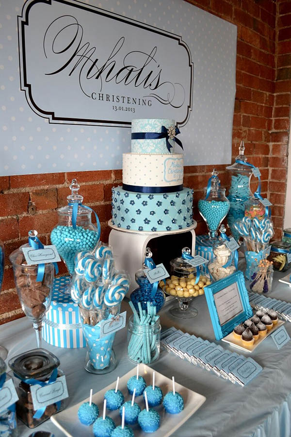 Lovely Blue Christening Party