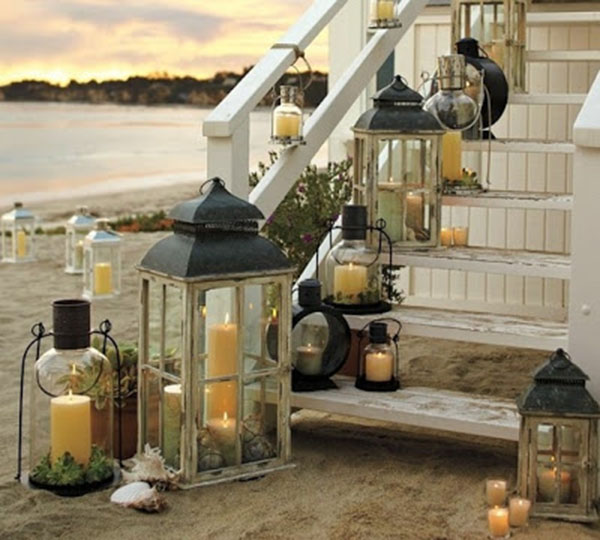 Outdoor Lantern Decortions For Summer!